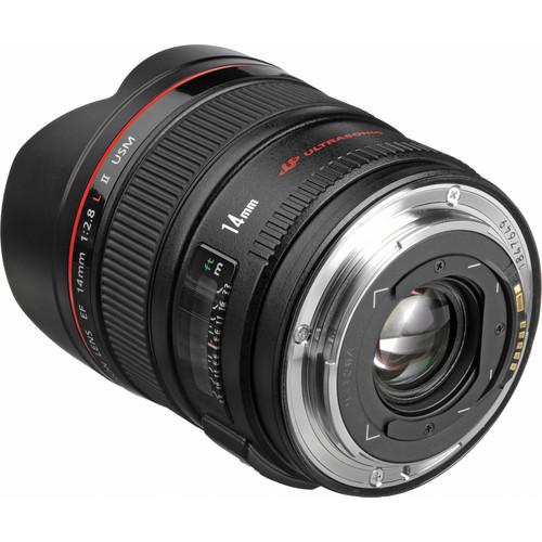 Canon 14mm F2.8L Back Angled