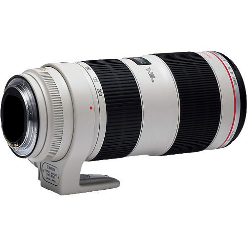 Canon 70-200mm F2.8L IS II back angle