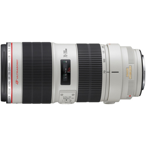 Canon 70-200mm F2.8L IS II horizontal front