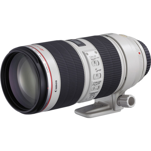 Canon 70-200mm F2.8L IS II side angle