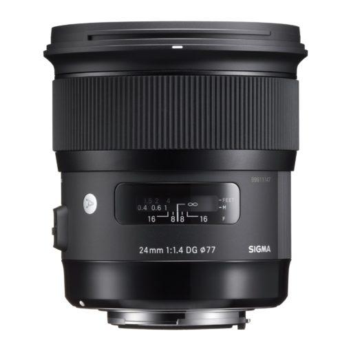 Sigma 24mm ART F/1.4