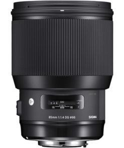 Sigma 85mm F1.4 ART (Canon) front