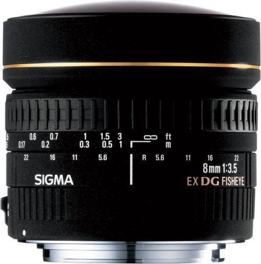 Sigma 8mm F/3.5 Fisheye - Nikon DSLR