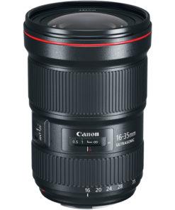 Canon 16-35mm F2.8L III angled