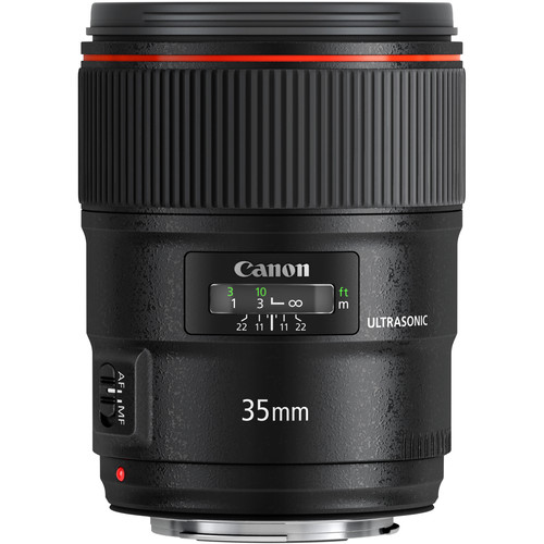 Canon 35mm F1.4L V2 front