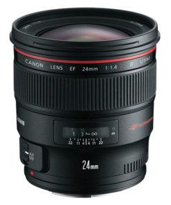 Canon 24mm F/1.4 II