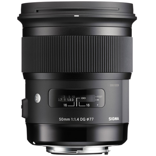 Sigma 50mm 1.4 ART (Canon) front