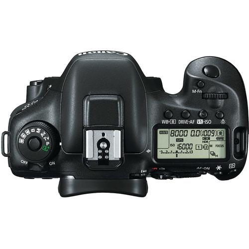 Canon 7D Mark II Top