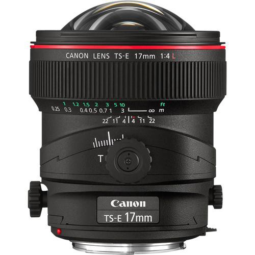 Canon TS-E 17mm F4L side no cap