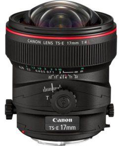 Canon TS-E 17mm F4L side tilt no cap